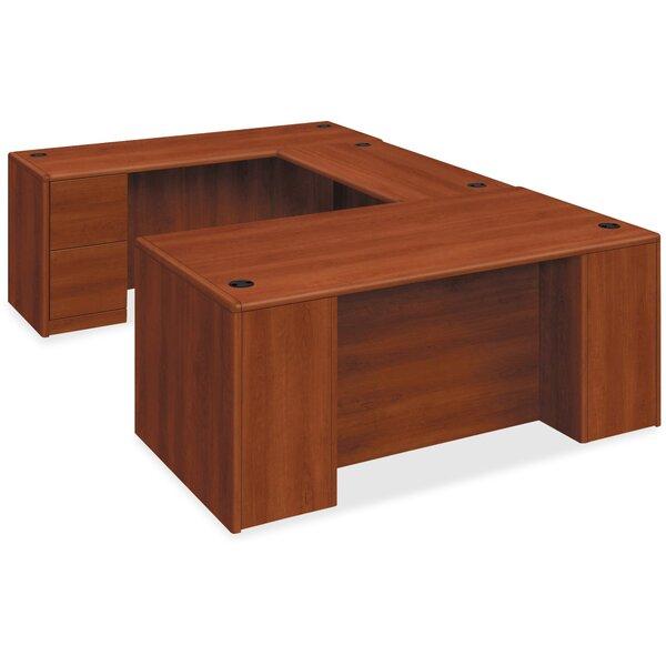 10700 Series Cognac Executive Desk