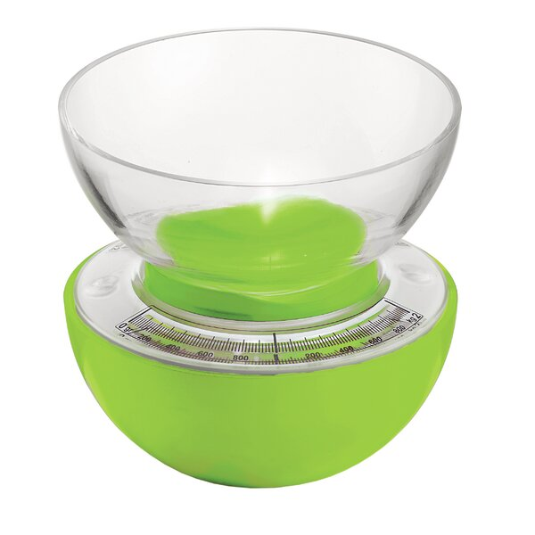 Latina Acrylic Mechanism Sfera Mechanical Kitchen Scale by Guzzini