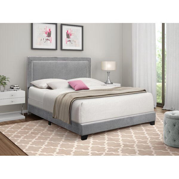 Carnesville Upholstered Standard Bed by Everly Quinn