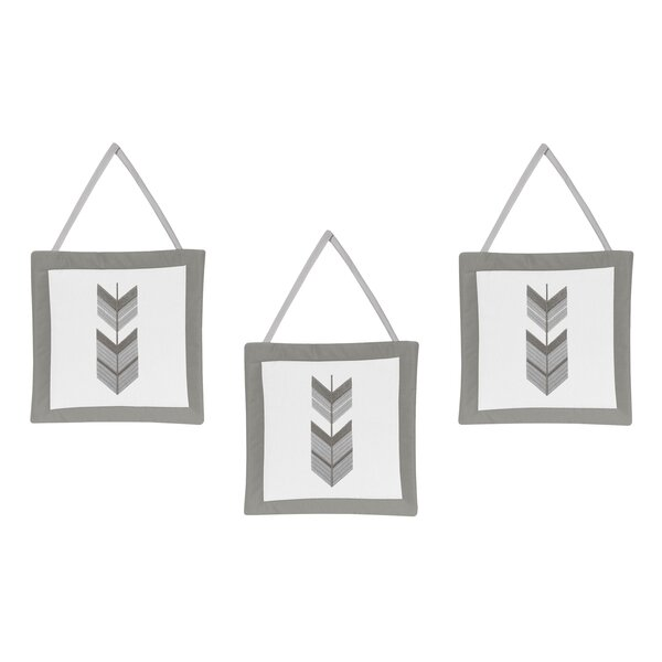 Mod Arrow Tapestry and Wall Hanging (Set of 3) by Sweet Jojo Designs