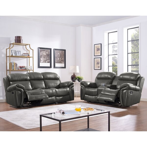 Glausen Reclining Living Room Set by Red Barrel Studio