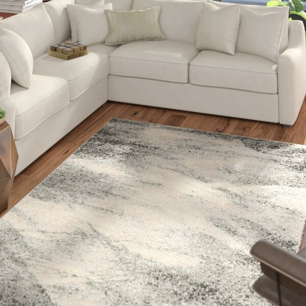 @ Vulpecula Grey and Ivory Area Rug by Mercury Row| #$284.04!