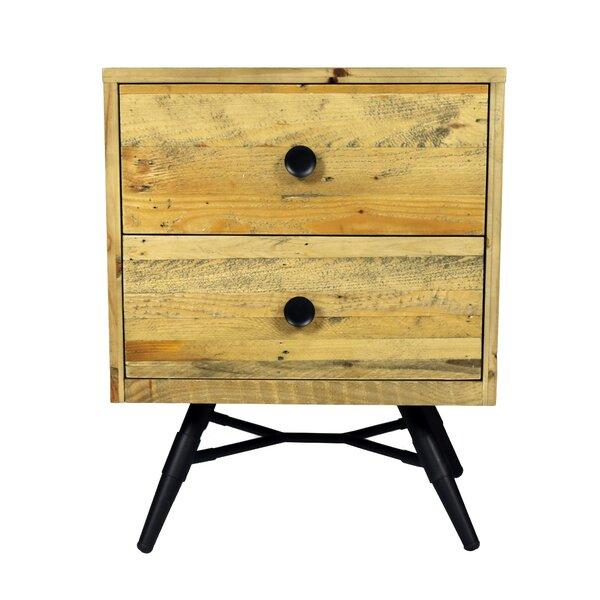 Coda 2 Drawer Nightstand by Modern Rustic Interiors