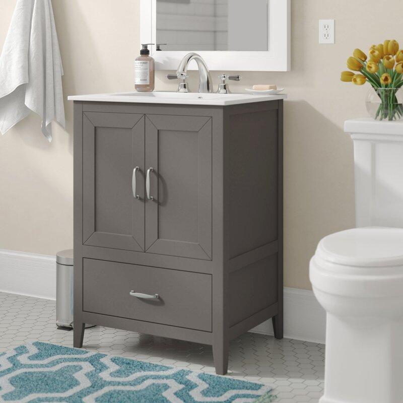 Charlton Home Crist 24 Single Bathroom Vanity Set Reviews Wayfair