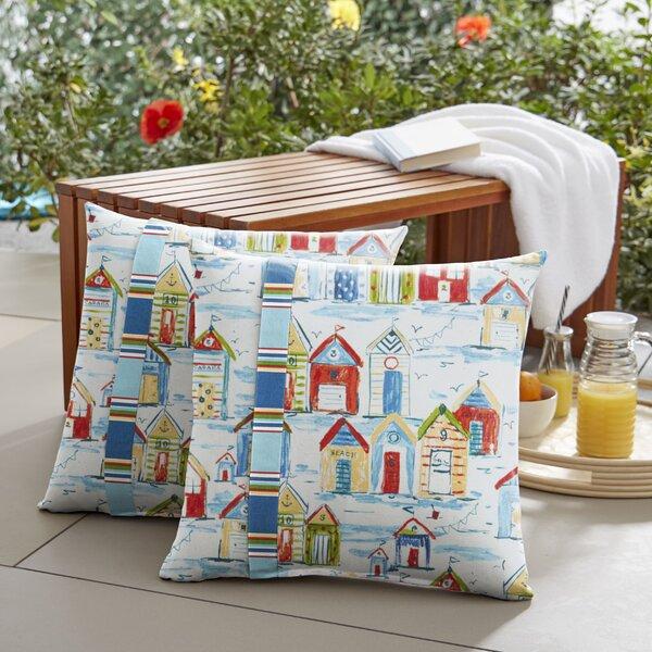 Eccles Indoor/Outdoor Throw Pillow (Set of 2) by Breakwater Bay