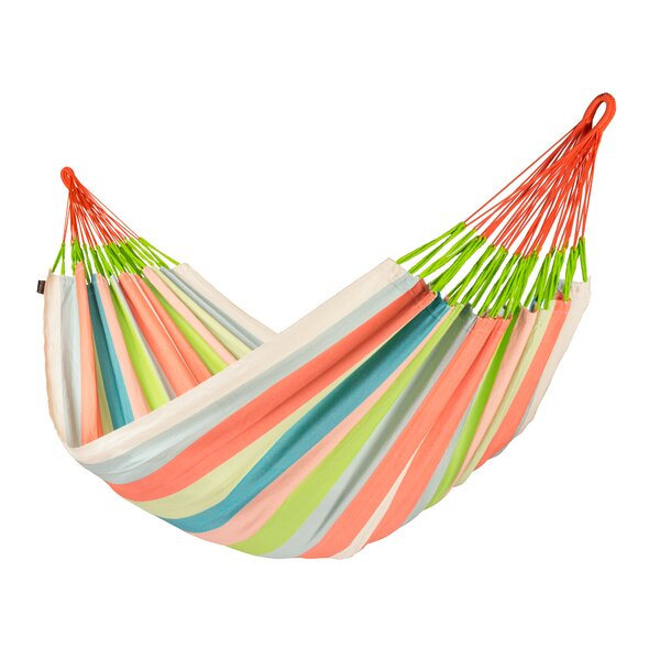 DOMINGO Weatherproof Family Olefin Tree Hammock by LA SIESTA