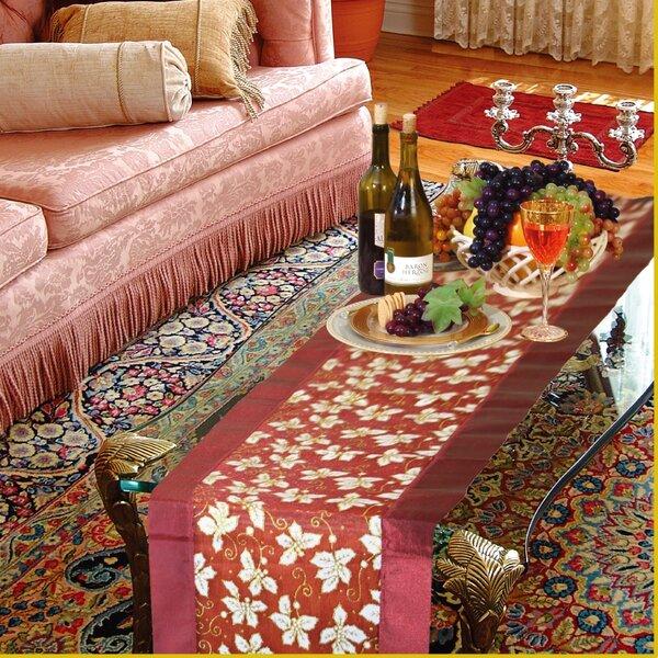 Seasonal Leaves Table Runner by Violet Linen