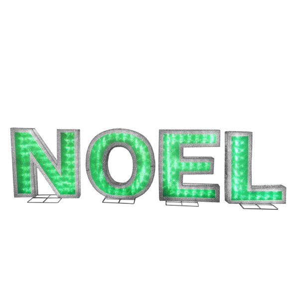 Pre-Lit NOEL Lighted Display by The Holiday Aisle