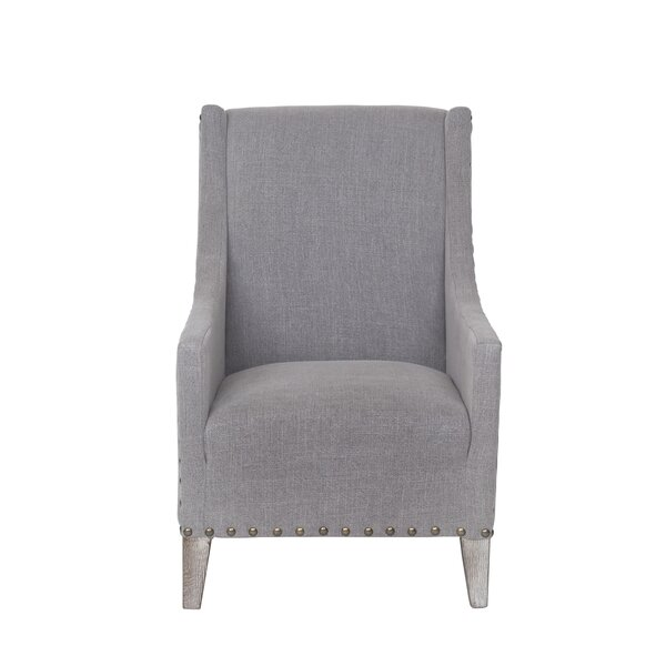 Cronk Wingback Chair by One Allium Way