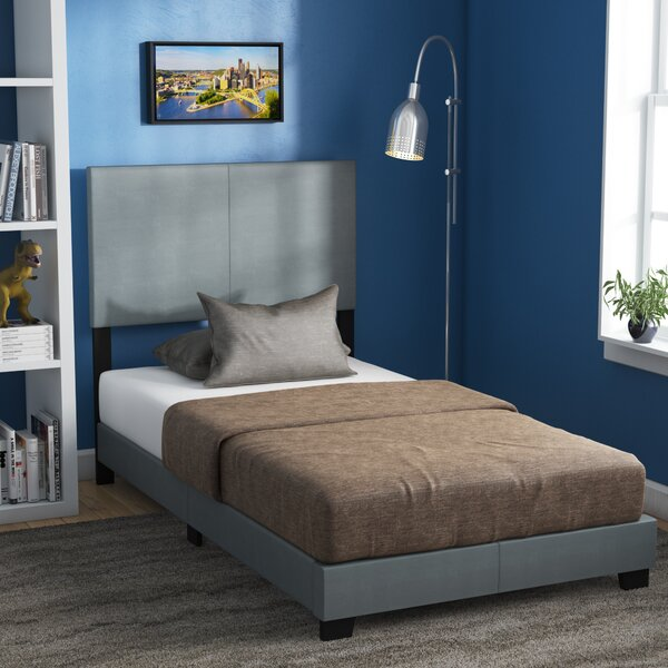 Colwell Twin Upholstered Standard Bed by Mercury Row
