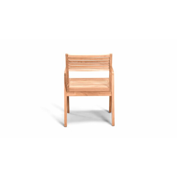 Hoff Stacking Patio Dining Chair by Rosecliff Heights