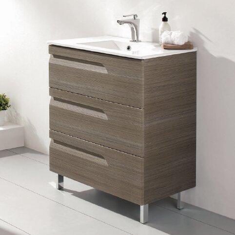 Zebulon 24 Single Bathroom Vanity Set by Orren Ellis