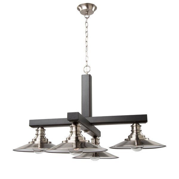 Ambrose 4-Light Shaded Classic / Traditional Chandelier By Artcraft Lighting