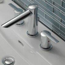 Compel Double Handle Deck Mounted Roman Tub Faucet Trim by Delta Delta