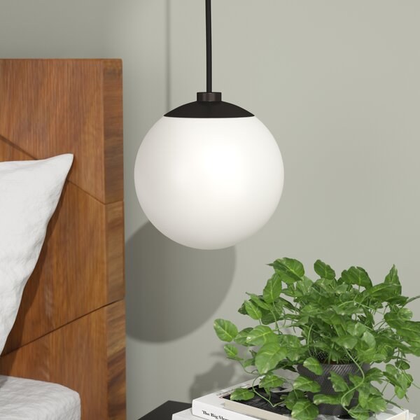 Samira 1-Light Globe Pendant by Langley Street