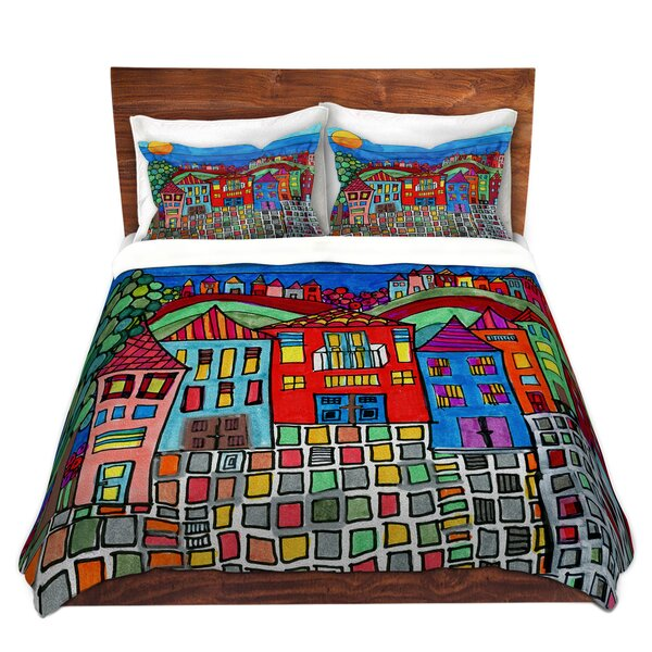 Mexico Town Duvet Cover Set