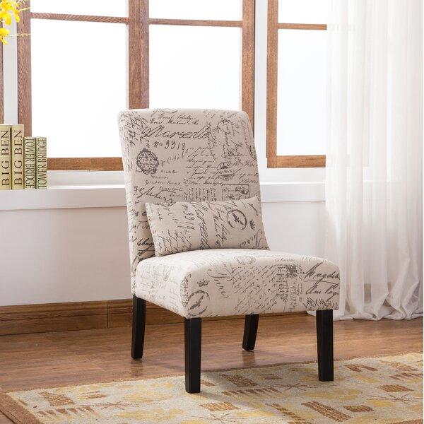 Pisano Slipper Chair by Roundhill Furniture