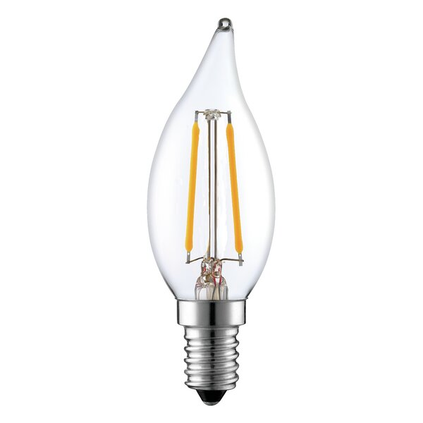 2W E12/Candelabra Dimmable LED Edison Light Bulb by String Light Company