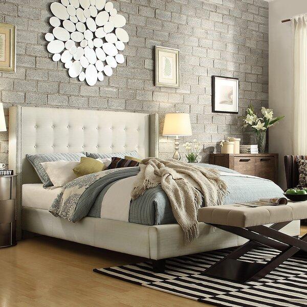 Gittan Linen Upholstered Platform Bed by Willa Arlo Interiors