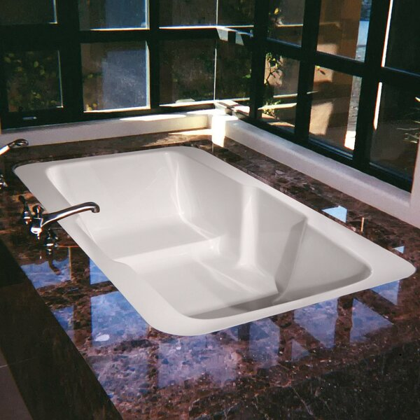 Designer Victoria 73 x 48 Air Bathtub by Hydro Systems