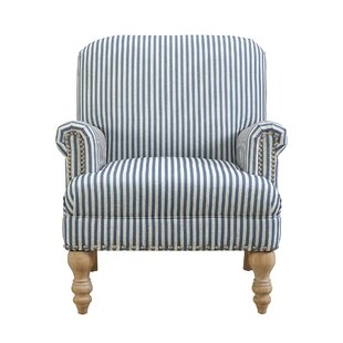 Awesome Blue Striped Accent Chairs Youu0027ll Love | Wayfair