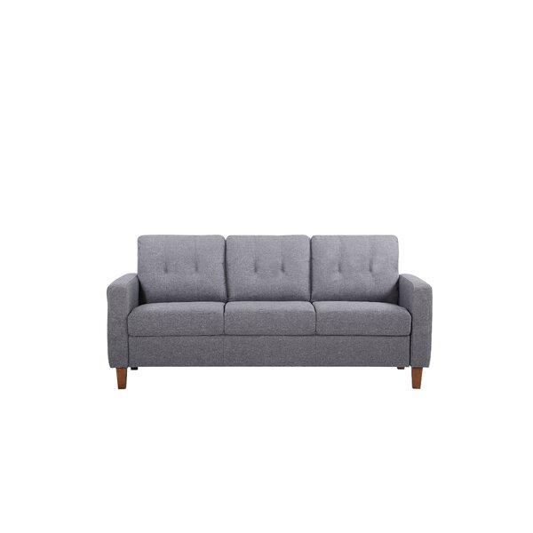 Rossetti Mid Century Tufted Sofa by Latitude Run