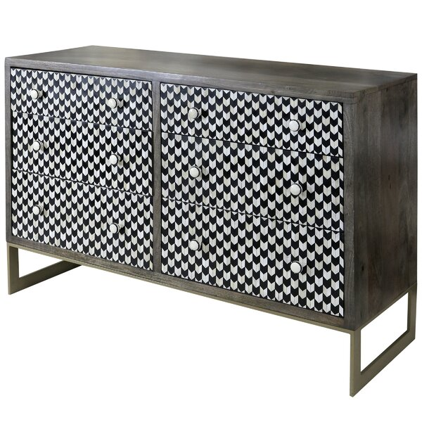 Cuyuna 6 Drawer Double Dresser by Brayden Studio
