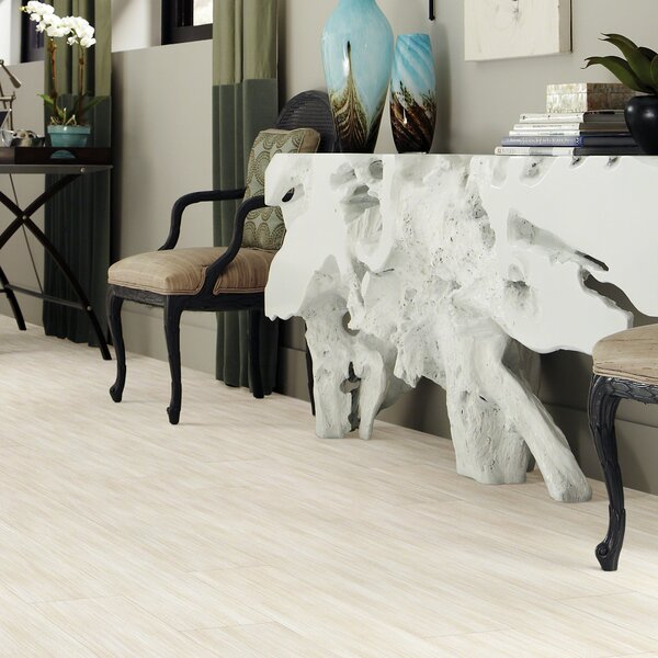 Retreat 20 6 x 36 x 2.5mm Luxury Vinyl Plank in Sand Dollar by Shaw Floors