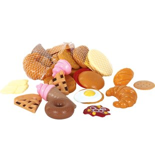 Best Price 33 Piece Pastry Play Food Set ByGowi Toys Austria