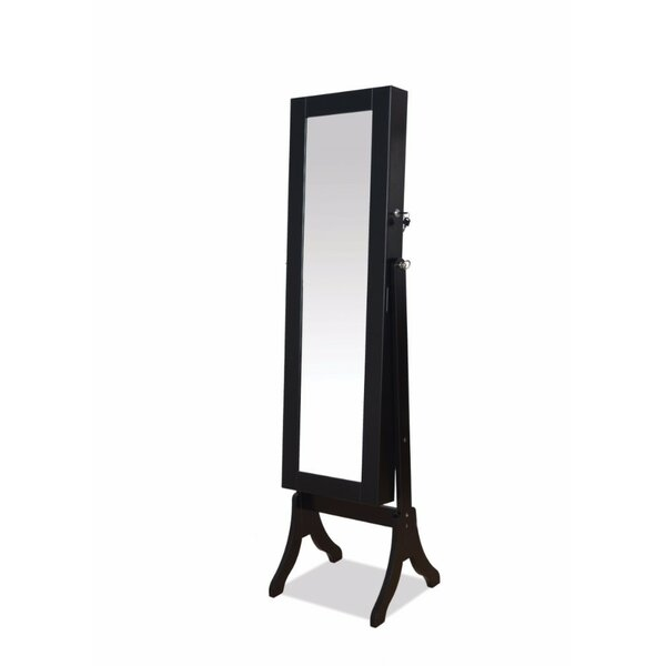 Vytis Free Standing Jewelry Armoire with Mirror by Latitude Run
