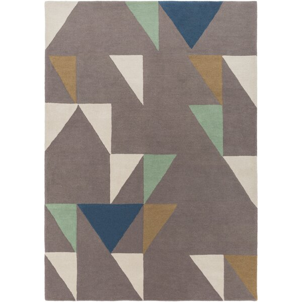 Julienne Hand-Tufted Camel Area Rug by Ivy Bronx