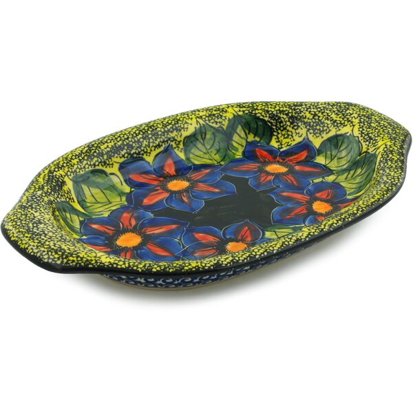 Midnight Glow Platter by Polmedia