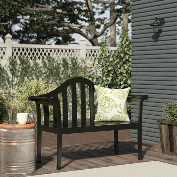 Nancy Entryway Wood Garden Bench by August Grove