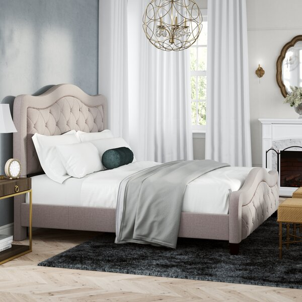 Chereen California King Upholstered Standard Bed by Willa Arlo Interiors