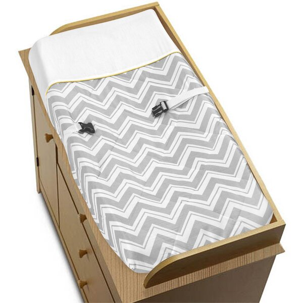Zig Zag Changing Pad Cover by Sweet Jojo Designs