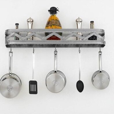 Sonoma Wall Mounted Pot Rack by Hi-Lite