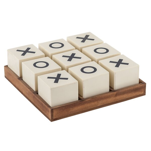Crossnought Tic-Tac-Toe Game by Sterling Industries