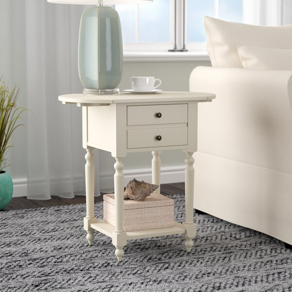 Tolland End Table with Storage by Breakwater Bay Breakwater Bay
