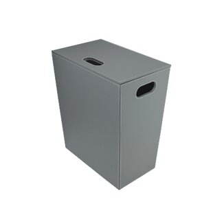 Great Price Laundry Hamper with Cover By Rebrilliant