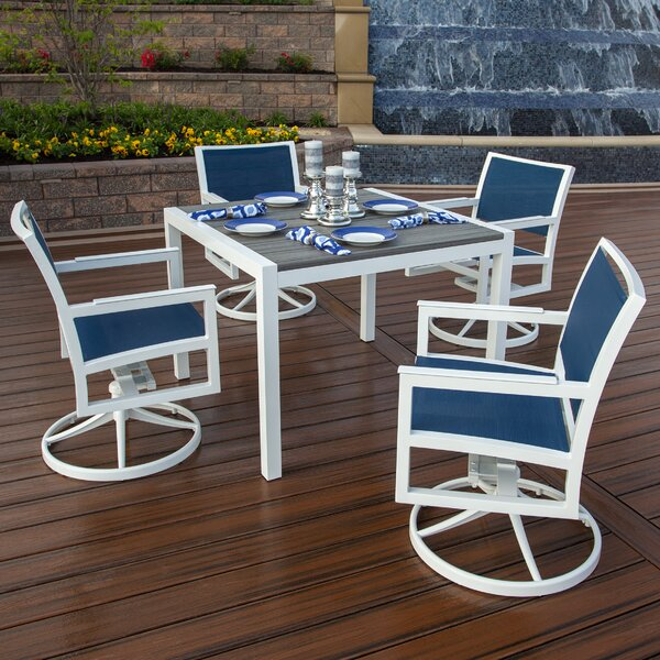 Parsons 5 Piece Dining Set by Trex Outdoor