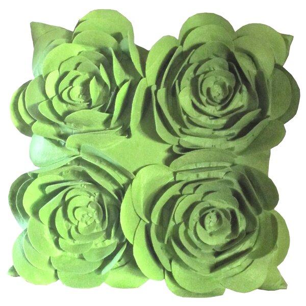 Rose Petals Throw Pillow (Set of 2) by Debage Inc.
