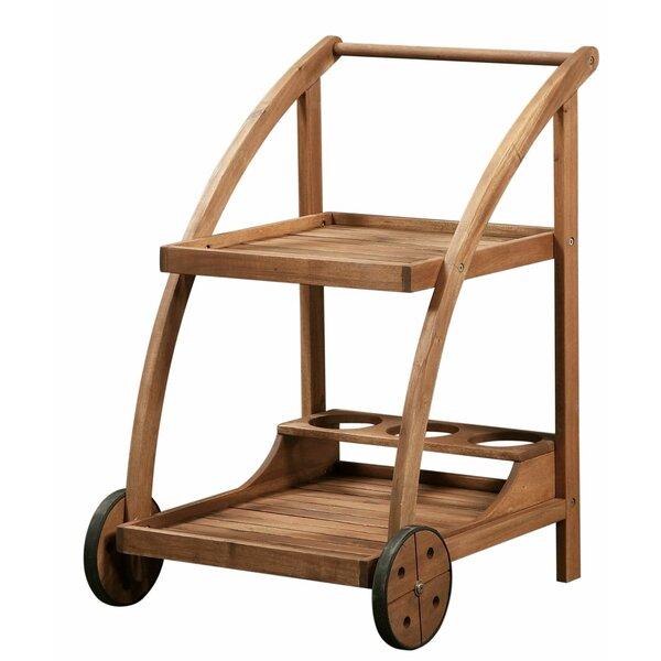 Kristy Wooden Bar Cart by August Grove August Grove