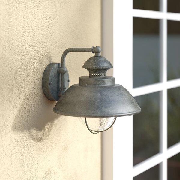 Archibald Outdoor Barn Light by Beachcrest Home