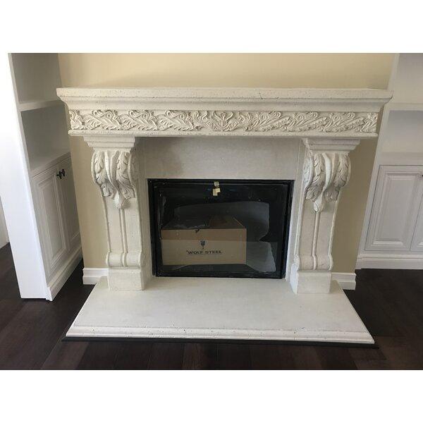 Los Angeles Cast Stone Fireplace Mantels