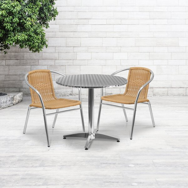 DuJuan 3 Piece Dining Set by Red Barrel Studio