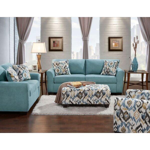 Moriah 4 Piece Living Room Set by Ebern Designs