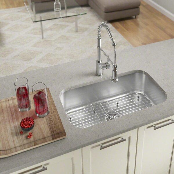 Stainless Steel 32 x 18 Undermount Kitchen Sink by MR Direct