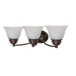 Inexpensive Poneto 3-Light Vanity Light By Charlton Home