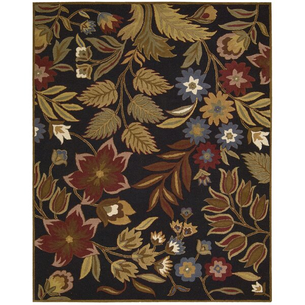 Elmwood Hand-Tufted Brown Area Rug by Darby Home Co