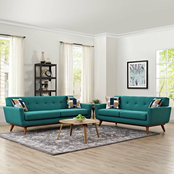 Saginaw 2 Piece Living Room Set by Corrigan Studio